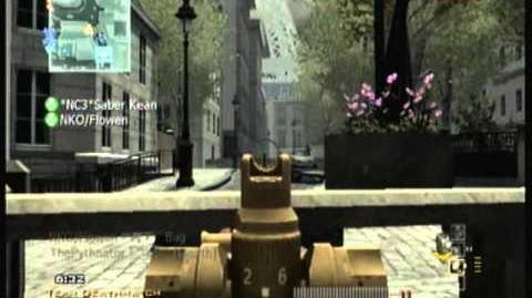 Video - Modern Warfare 3 Wii Golden Gun Showcase Episode II SCAR-L