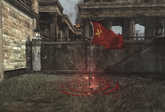 Red Army control point