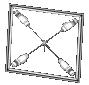Лазерная оконная ловушка иконка iwz