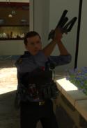 Соотрудник милиции