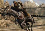 Frank Woods Horseback BOII