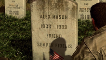Mason's могила