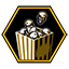 Popcorn achievement icon AW