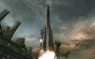 Soyuz 2 taking off Executive Order BO