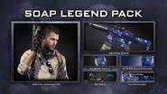Legend pack soap