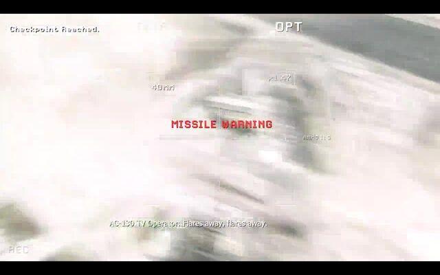 File:AC-130 Gunner deploying flares MW3.jpg