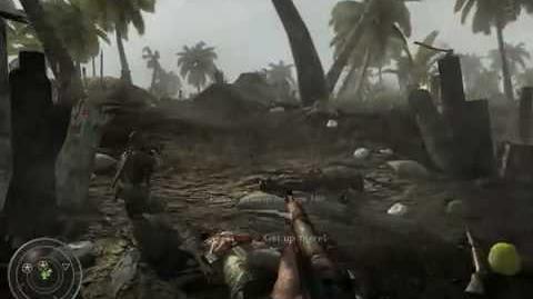 CoD 5 World at War (13 Death Card Locations) HD