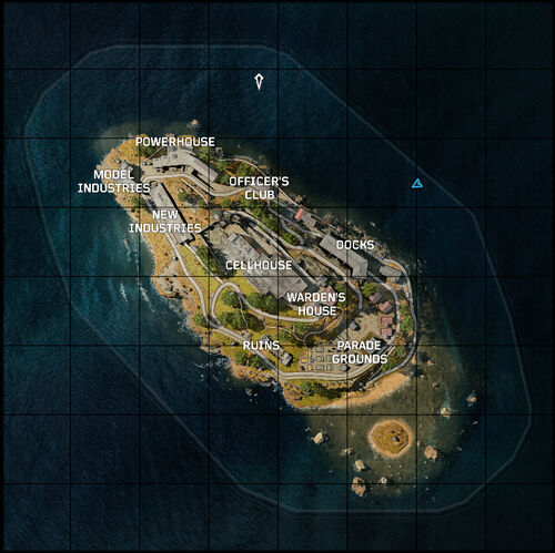 Blackout alcatraz map