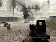 Heli extraction and end point War Pig CoD4