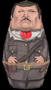 Takeo Masaki Matryoshka Doll model BO