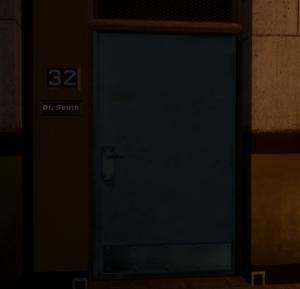 Дверь в кабинет Смит