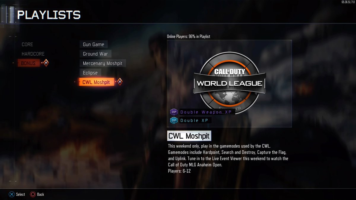 Call of duty 4 matchmaking
