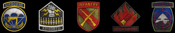 Divisionen CoD WWII