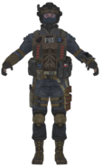 FBI Shotgun model BOII