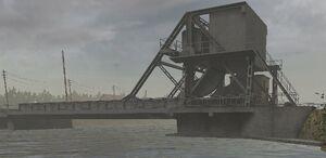Мост Пегас днём