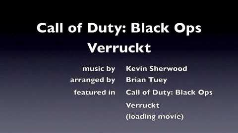 Call of Duty Black Ops - Verruckt loading screen nazi zombies Kevin Sherwood