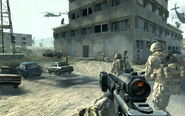 Entrance to hideout Charlie Don't Surf CoD4