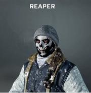 Reaper Face Paint BO