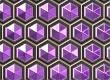 Пурпурные соты иконка
