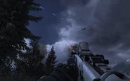 AC-130 firing 25mm Overwatch MW2