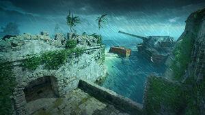 Contraband Hurricane MenuScreen BO4