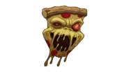 Pizza Fiend Sticker BO4