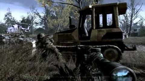 Pripyat Припять - Акт 2 - Всё в камуфляже Call of Duty 4 Modern Warfare