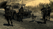 Shadow Company squad guarding MW2
