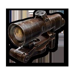 4x Optic menu icon WWII