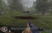 Gun 3 Brecourt Manor CoD1