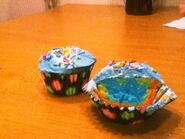 IW's Rainbow Cupcakes