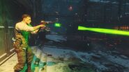 Richtofen firing the ray gun thrid person BO3