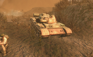 T-55 front view S.O.G. BO