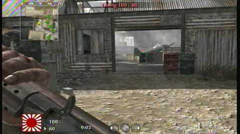 COD5 M1A1 Carbine Game Play (Fast Shooting, No Mods)