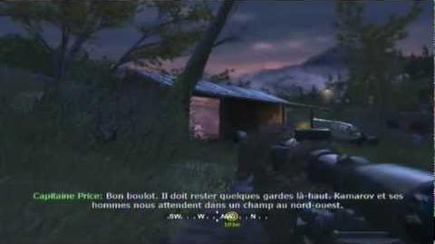 COD 4 Mission 3 Coupure