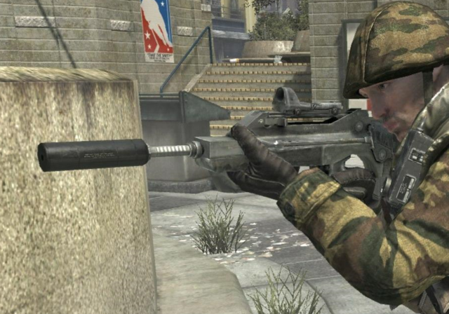 File:Famas Red Dot Sight Suppressor Third Person BO.png
