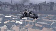 Ми-24 над картой Lockdown
