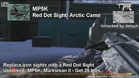 Call of Duty® Modern Warfare 2 - MP5K Submachine Gun Overview (All Attachments)