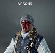 Apache Face Paint BO