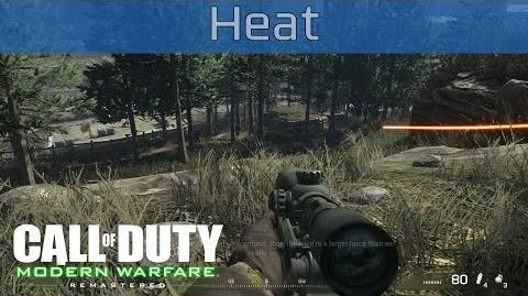 Call of Duty 4 Modern Warfare Remastered - Heat Walkthrough HD 1080P 60FPS