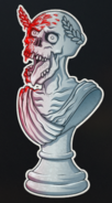 Gauntlet VeniVidiZombies Sticker BO4