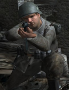 German soldier Normandy 2 CoD2