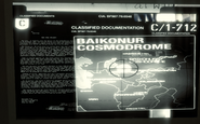 Baikonur Cosmodrome classified document BO