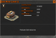 Gold Miner Level 5 Stats CoDH
