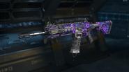 ICR-1 Gunsmith Model Dark Matter Camouflage BO3