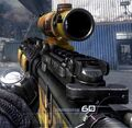 M4A1 acog scope fall camo