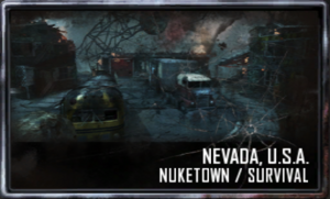 Nuketown menu selection BO2