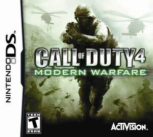 Call of Duty 4 modern warfare DS