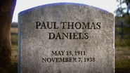 Paul Thomas Daniels Grave WWII