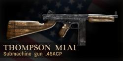 Thompson Menu Icon CoD3